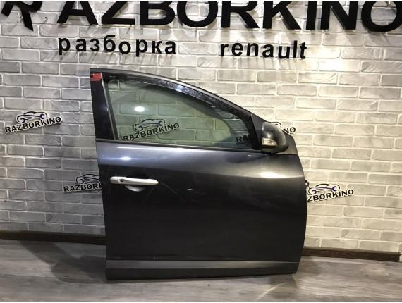 Дверь передняя правая Renault Megane 3 универсал (Рено Меган)