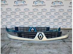 Решетка радиатора Renault Kangoo (Кенго)  2003-2008