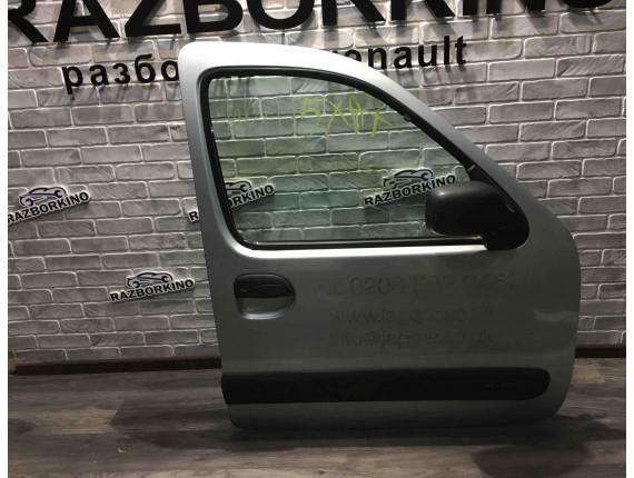 Дверь передняя правая (голая) Renault Kangoo I/1
