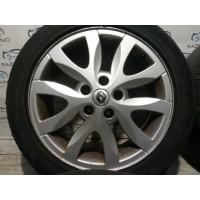 Диски титановые (легкосплав, литые) ET 47 5*114.3 R17 Renault Laguna III