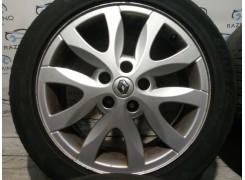 Диски титановые (легкосплав, литые) ET 47 5*114.3 R17 Renault Laguna III (Рено Лагуна 3)