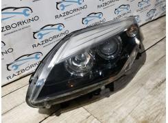 Фара передняя левая европейская Renault Laguna 3  (рестайлинг)