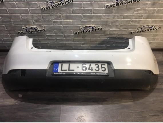 Бампер задний Renault Megane 3 хетчбек (Рено Меган)