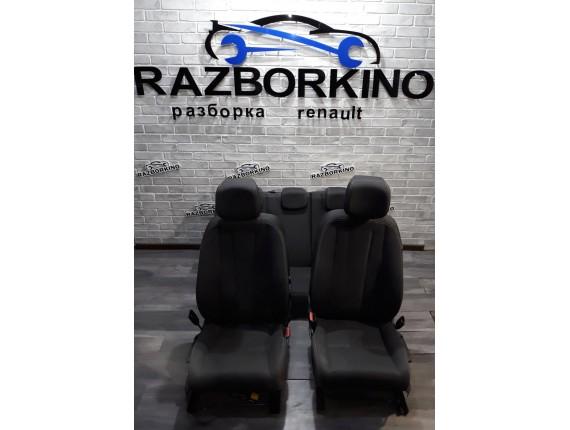 Комплект сидений (салон) на Renault Megan 3 (Рено Меган 3)