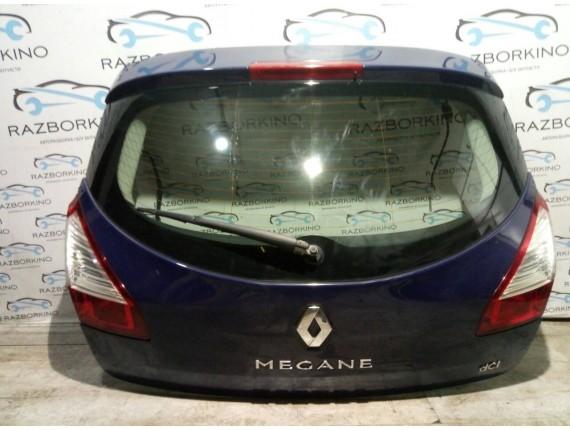 Крышка багажника (ляда) Renault Megane III (хетчбек)