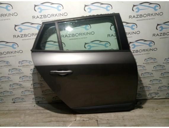 Дверь задняя правая (универсал) Renault Megane III