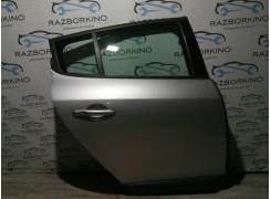 Дверь задняя правая (хетчбек) Renault Megane III (Меган 3)