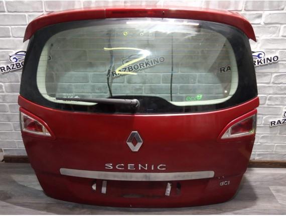 Крышка багажника (ляда, задняя дверь) Renault Scenic III