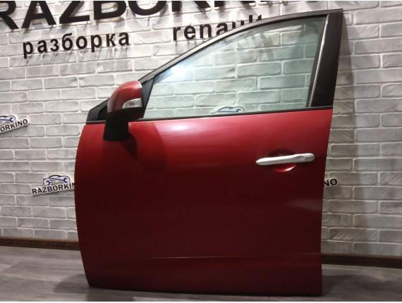 Дверь передняя левая (голая) Renault Scenic III