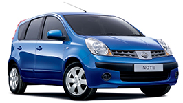 Nissan Note 1 2004—2013